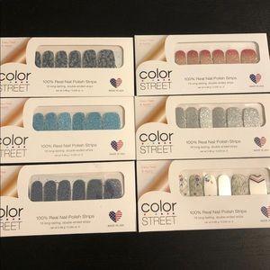 Color Street Nail Strip Bundle